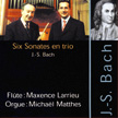 CD Bach - Sonates en trio - Michaël Matthes orgue 2000